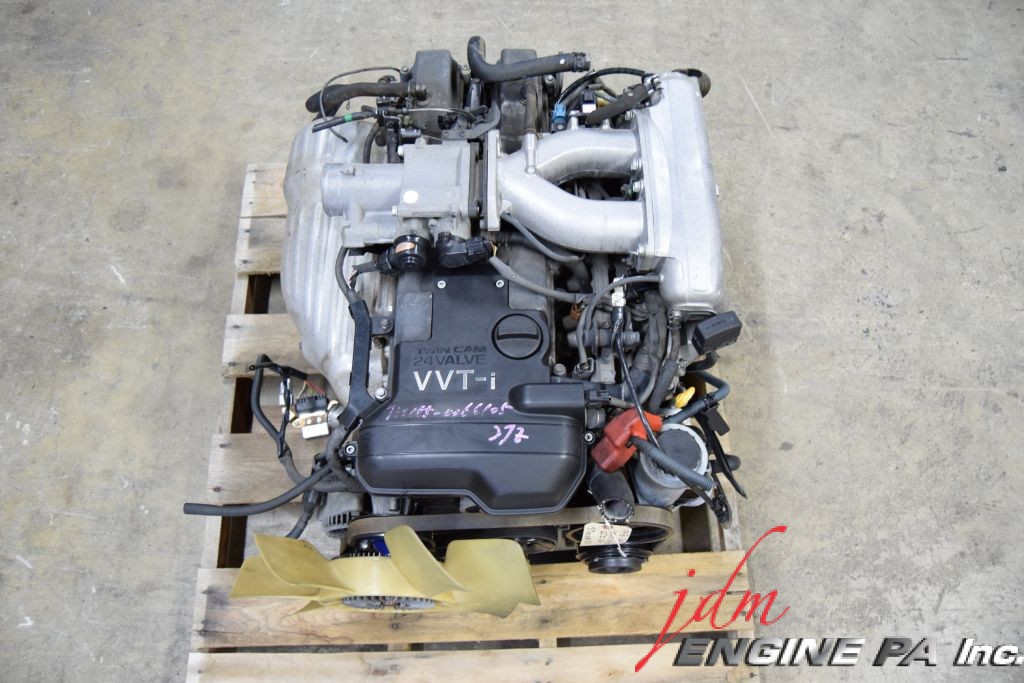 jdm toyota 2jz ge vvti engine 2jzge lexus is300 gs300 1998. Black Bedroom Furniture Sets. Home Design Ideas