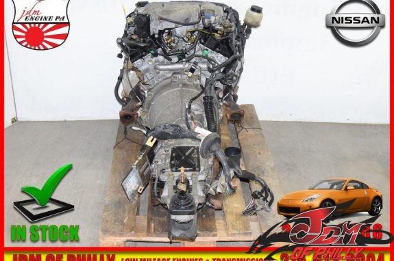 NISSAN 35OZ VQ35 ENGINE-5