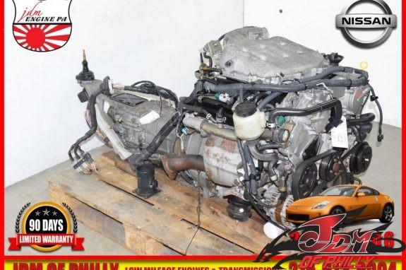 NISSAN 35OZ VQ35 ENGINE-7