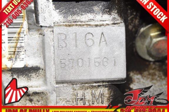JDM B16A MT-6